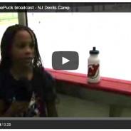 My first ChaseThePuck broadcast – NJ Devils Camp