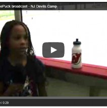 My first ChaseThePuck broadcast – NJ Devils Camp
