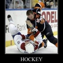 Hockey fights and kids