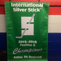 My team won the Silver Sticks Regional Championship